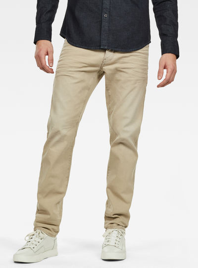D-Staq 5-Pocket Straight Colored Jeans