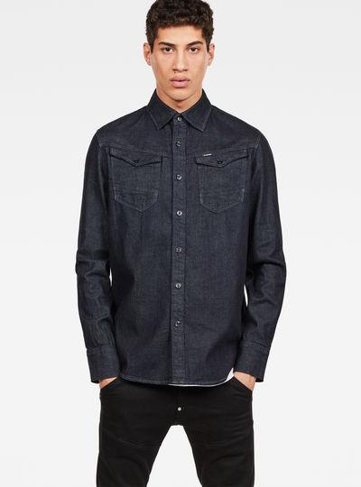 Overhemd Getailleerd Heren.Overhemden Heren Just The Product Heren G Star Raw