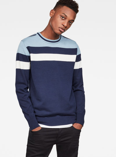 Sport Stripe Knit