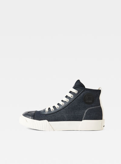 Rackam Parta Denim Mid Sneakers