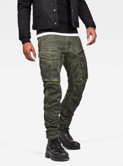 Rovic Zip 3D Tapered Pants