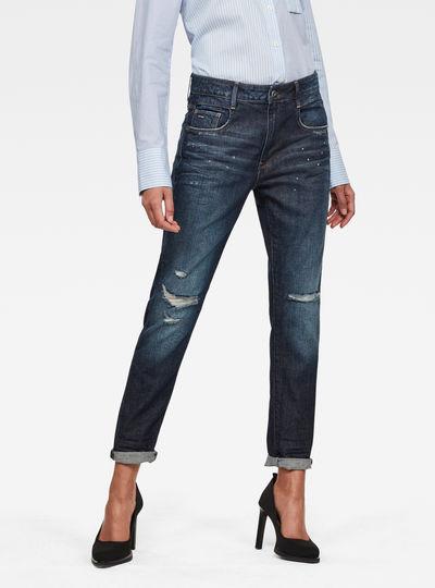 Radar Mid Waist Boyfriend Tapered Jeans