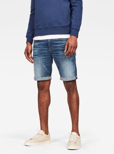 3301 Slim 1/2 Shorts