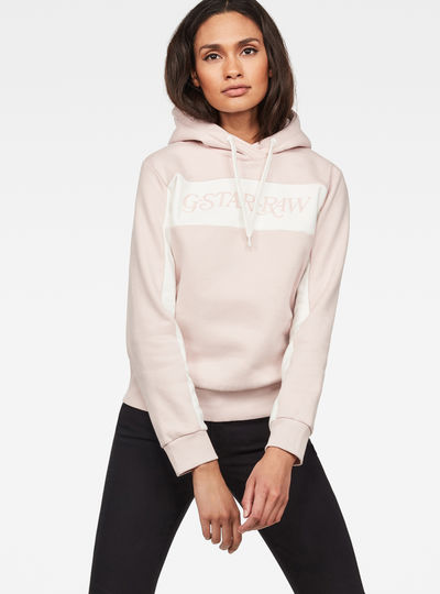 Color Block Xzula Hooded Sweat