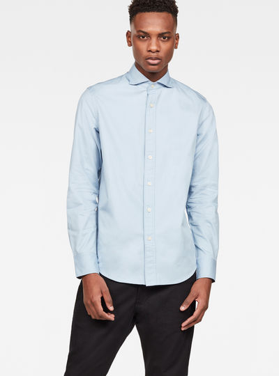Bristum Wide Spread Slim Shirt