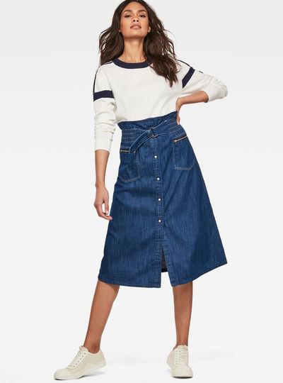 Tacoma Zip Paperbag Skirt