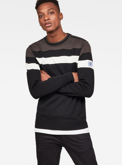Sport Stripe Knit