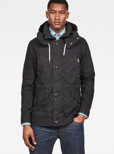 Vodan Caban Hooded Jacket