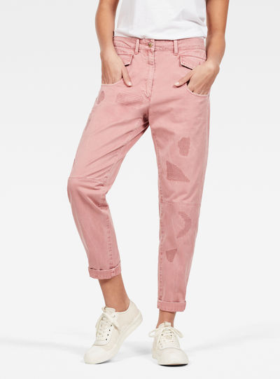 Army Radar Boyfriend Trousers