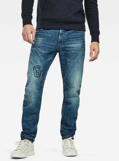 Arc 3D Relaxed Tapered Art Jeans