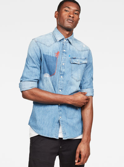 3301 Color Restored Slim Shirt