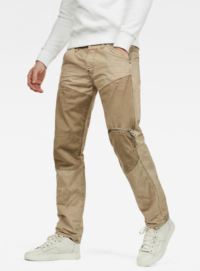 5620 G-Star Elwood Workwear 3D Zip Straight Trousers