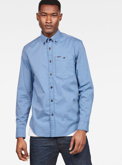 Core Button Down Slim Shirt