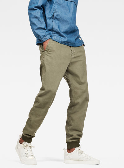 Bronson Straight Tapered Cuffed Trousers