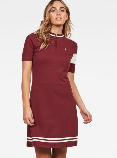 Cergy Zip Slim Dress