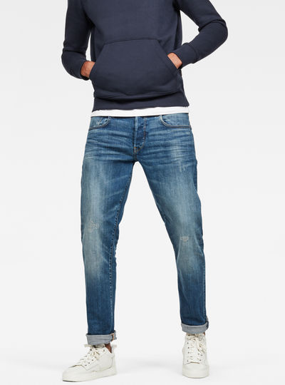 3301 Straight Tapered Jeans