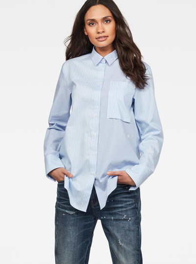 Core 1 Pocket Boyfriend Shirt