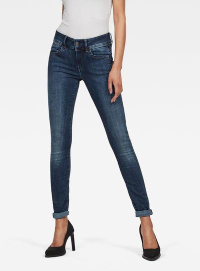Lynn D-Mid Waist Super SkinnyJeans