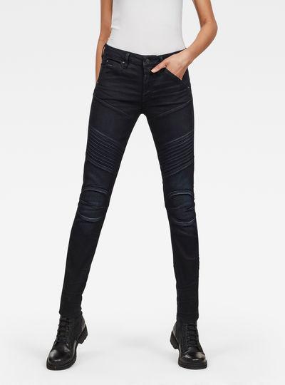 5620 Custom Mid Waist Skinny Jeans