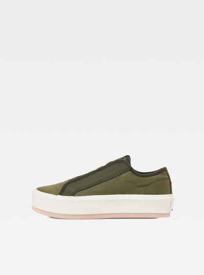Strett Lace Up Sneakers