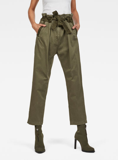 Bronson Army Paperbag Trousers