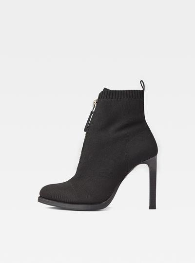 Strett Heel Boots