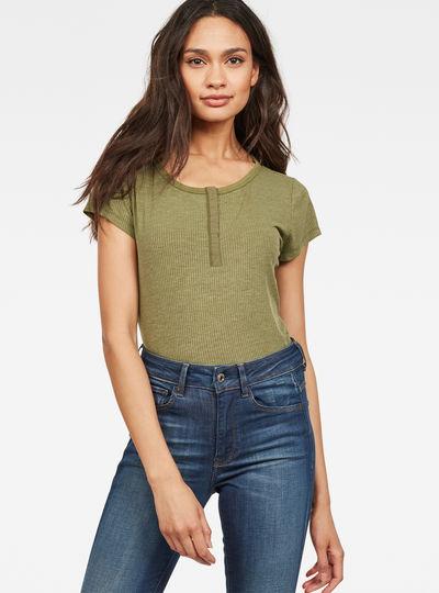 Mysid Slim Granddad T-Shirt