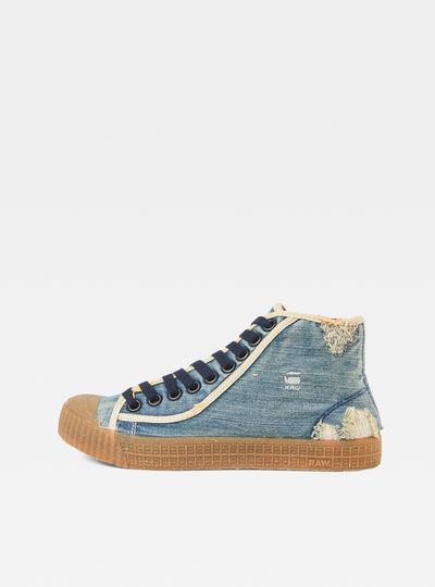 Rovulc 50 Years Denim Mid Sneakers