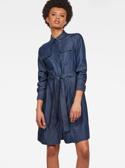 Tacoma Straight Flare Shirt Dress