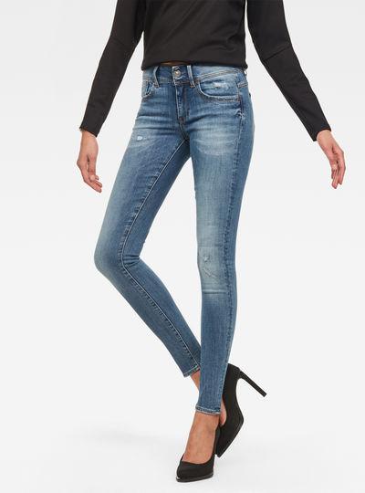 Lynn D-Mid Waist Super Skinny Jeans 8a55e4bd026