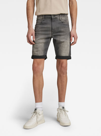 3301 Slim 1/2-Length Shorts