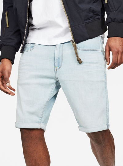 3301 Slim 1/2-Length Shorts