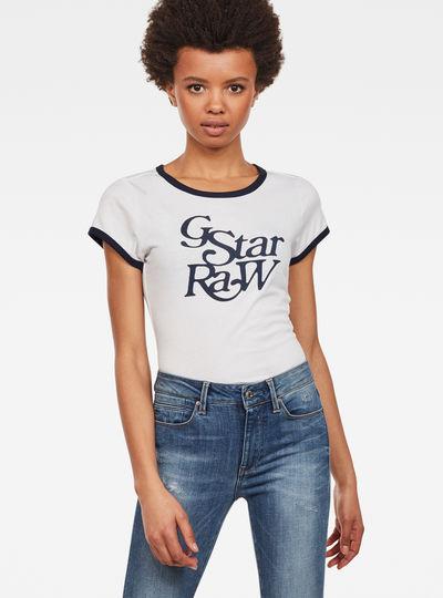 Graphic 19 Ringer Slim T-Shirt