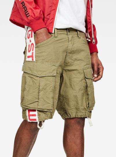 Rovic Moto Relaxed Shorts