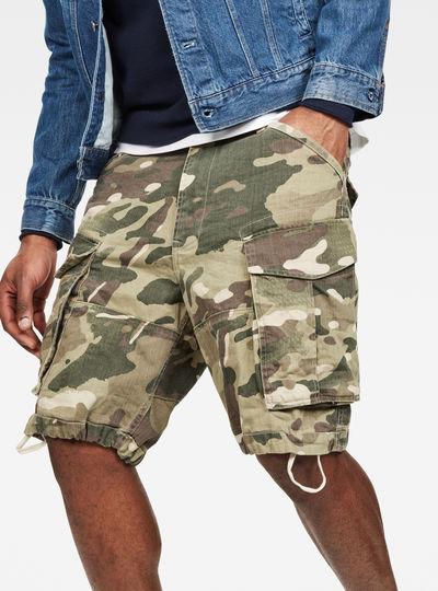 Rovic Nozzle Camo Relaxed Shorts