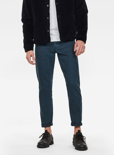 3301 Straight Tapered Colored Jeans