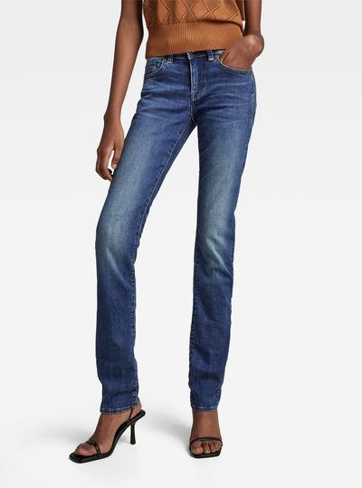 b332c24b2 Midge Saddle Mid Waist Straight Jeans ...