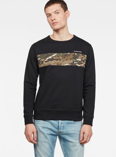 Core Camo Block Sweater