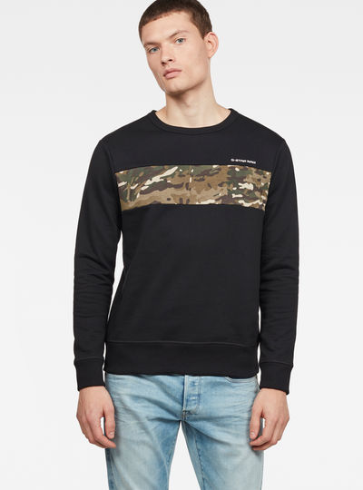 Core Camo Block Sweatshirt