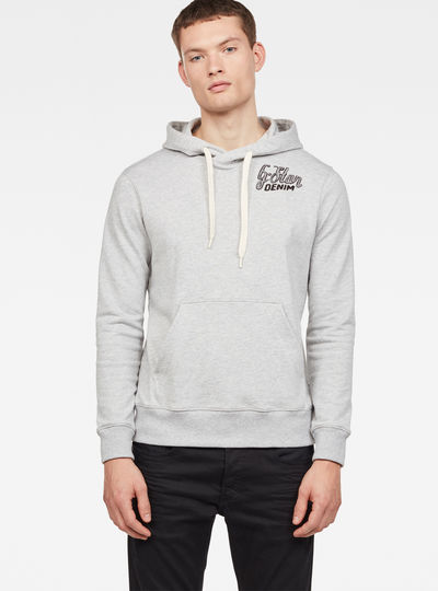 5621 Graphic 10 Core Hooded Sweat