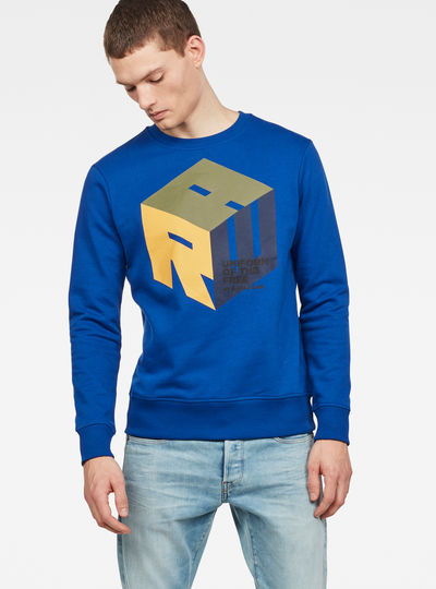 Graphic 6 Core Sweatshirt