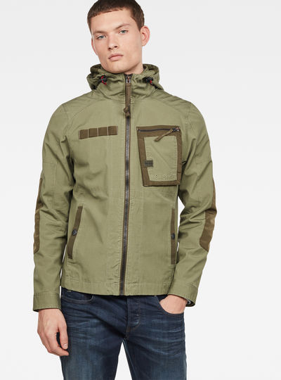 Grizzer Hooded Overshirt