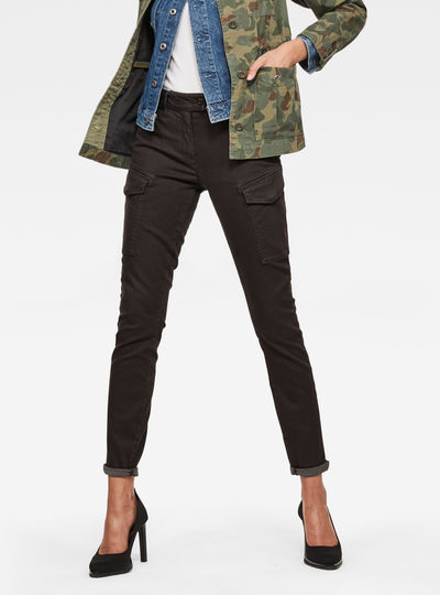 Blossite Army High Skinny Trousers