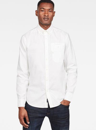 Bristum Button Down Pocket Slim Shirt