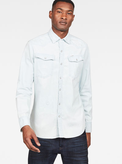 0439acc7df 3301 Slim Shirt ...