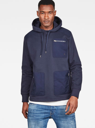 Arris Straight Hooded Sweater