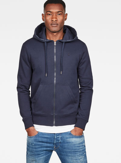 c9808622483 Graphic 8 Core Hooded Zip Through Sweater ...