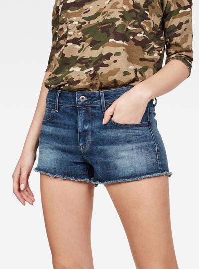 Short 3301 RP Mid Boyfriend Jeans
