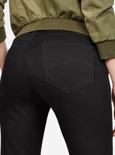 G-Star Shape Zip High Waist Super Skinny Jeans