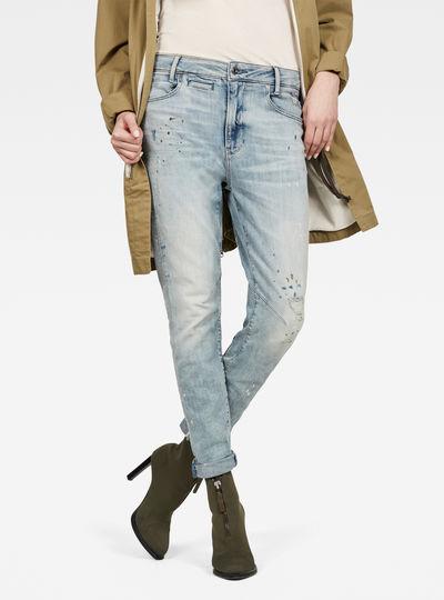 D-Staq Mid Boyfriend Slim Jeans